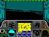 Gunship ZX Spectrum Begin flying searching for targets