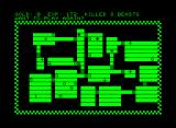 Dungeon Commodore PET/CBM When you die you get to see the whole map