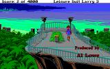 Leisure Suit Larry III: Passionate Patti in Pursuit of the Pulsating Pectorals Amiga Starting location along with some credits