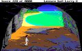 Leisure Suit Larry III: Passionate Patti in Pursuit of the Pulsating Pectorals Amiga Exploring a cave near the beach