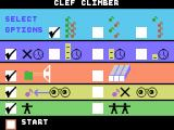 Brain Strainers ColecoVision Game options for clef climber