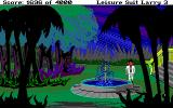Leisure Suit Larry III: Passionate Patti in Pursuit of the Pulsating Pectorals Amiga Water fountain outside the hotel