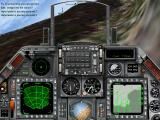 Jane's Combat Simulations: Israeli Air Force Windows Flying in canyon to avoid radar detection