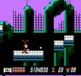 Yo! Noid NES Throwing the yo-yo in search of a hidden bonus