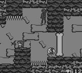 Maru's Mission Game Boy The golem can transform into a ball and fire explosives in several directions.