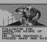 Gremlins 2: The New Batch Game Boy Intro
