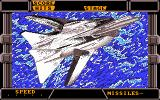 After Burner II DOS Intro of plane