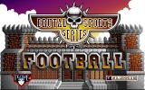 Brutal Sports Football Amiga CD32 Title screen.