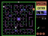Lady Bug ColecoVision A game in progress