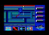 Superman: The Man of Steel Amstrad CPC Trying to fly