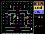Lady Bug ColecoVision Collect bonuses, but watch out for the critters!