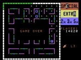Lady Bug ColecoVision Game over