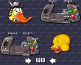 Donk!: The Samurai Duck Amiga CD32 Selecting your control options.