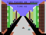 Turbo ColecoVision A race in progress