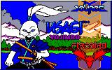 Samurai Warrior: The Battles of Usagi Yojimbo Amstrad CPC Loading screen