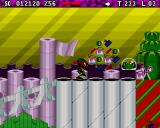 Zool 2 Amiga CD32 Evil scissors.