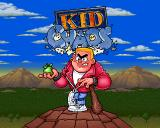 Kid Chaos Amiga CD32 Title screen.