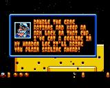 James Pond 3: Operation Starfish Amiga CD32 A useful (?) hint.