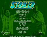 Striker Amiga CD32 Title screen.