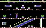 The Heist Commodore 64 The starting location