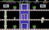 The Heist Commodore 64 Use the elevator to get from floor to floor