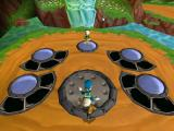 Disney's Donald Duck: Goin' Quackers Dreamcast Stage selection area of the first world