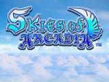 Skies of Arcadia Dreamcast Title screen