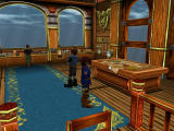 Skies of Arcadia Dreamcast Pirate ship interior. Note the detailed graphics