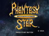 Sega Ages 2500: Vol.32 - Phantasy Star: Complete Collection PlayStation 2 Title screen