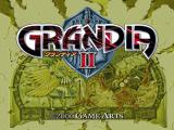 Grandia II Dreamcast Title screen