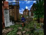 Skies of Arcadia Dreamcast Roaming around a friendly town.