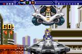 Gunstar Super Heroes Game Boy Advance Earth stage, starting point