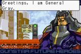 Gunstar Super Heroes Game Boy Advance Meet the villain