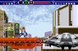 Gunstar Super Heroes Game Boy Advance The stage boss is near.