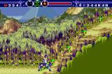 Gunstar Super Heroes Game Boy Advance What are those little green men?