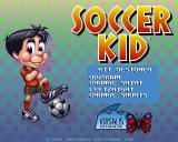 Soccer Kid Amiga CD32 You can even customize your kit's colour.