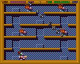 Super Methane Bros Amiga CD32 The first level.