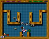Super Methane Bros Amiga CD32 Collecting bonus items after finishing this level.