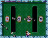 Super Methane Bros Amiga CD32 I collected all the aces, granting me an extra life.