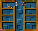 Super Methane Bros Amiga CD32 Enemies will fall infinitely through this vertical shaft.