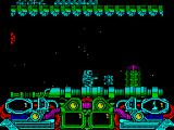 Dark Fusion ZX Spectrum The gun emplacement left a power up