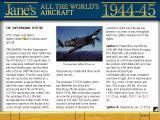 Jane's Combat Simulations: WWII Fighters Windows Information on the Supermarine Spitfire IX