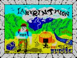 Labyrinthion ZX Spectrum Loading screen