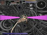 Terminal Velocity DOS larva boss in secret planet tunnel
