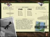 Battle of Britain Windows Campaign selection screen