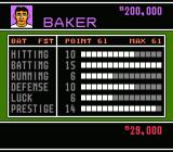 Baseball Stars 2 NES Player Attributes