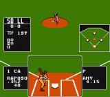 Baseball Stars NES Female Pitcher - Underhand