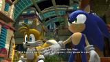 Sonic Colors Wii Sonic and Tails giving some exposition
