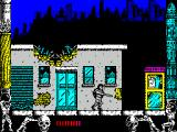 Metropolis ZX Spectrum In the attacking stance