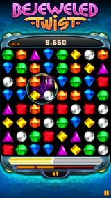 Bejeweled: Twist J2ME A bomb gem
